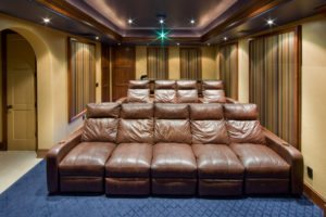 Classic Cinema - Leather Recliner Seats