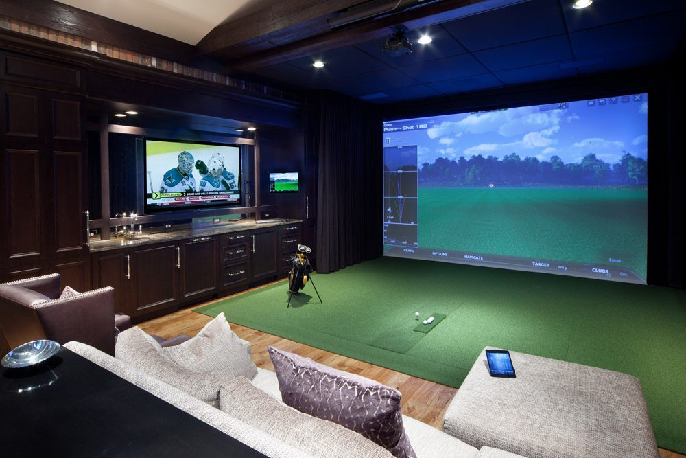 Golf Simulation and Home Theater